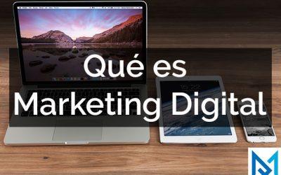 Que es marketing digital?